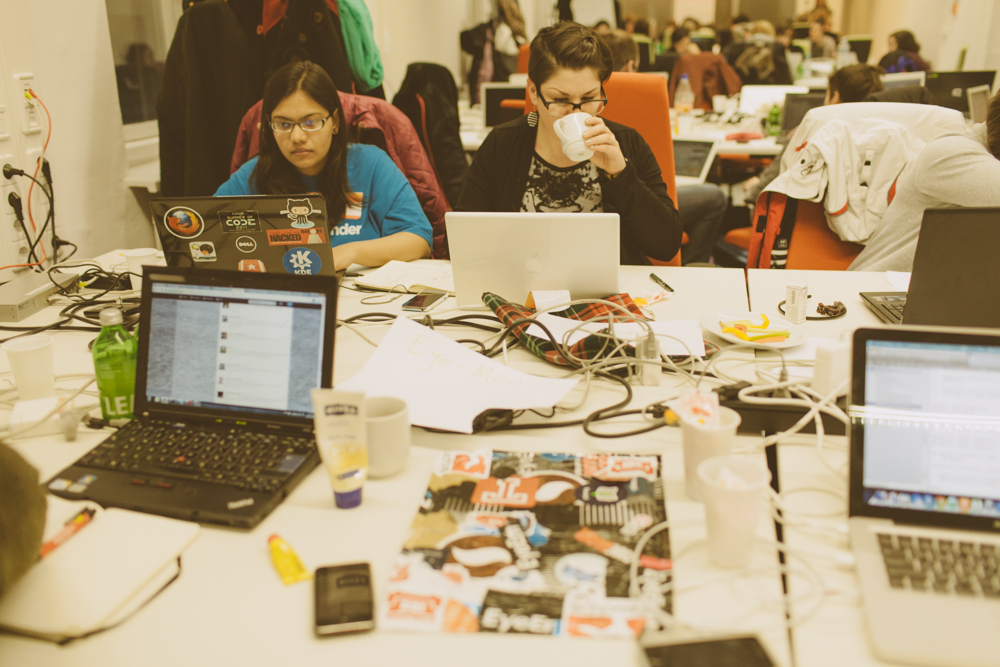 Germany's First All-Women's Hackathon