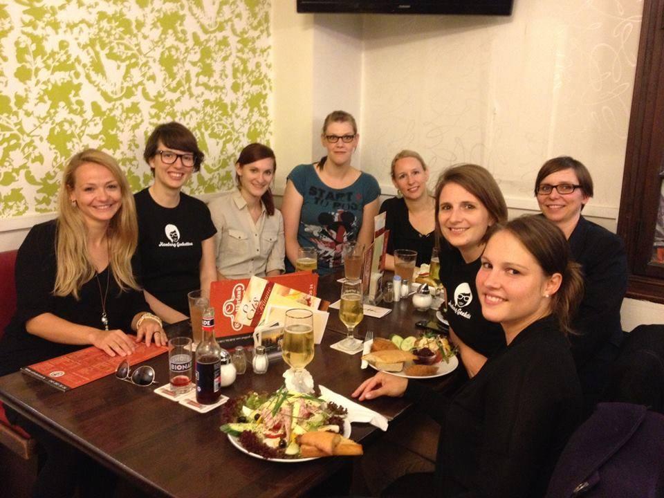 First Hamburg Geekettes Dine & Discuss