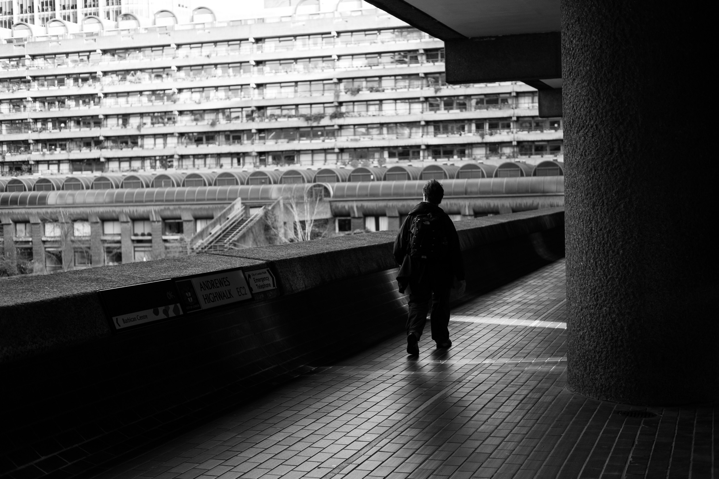 BARBICAN Estate curtis mcnally photography. UK london photographer