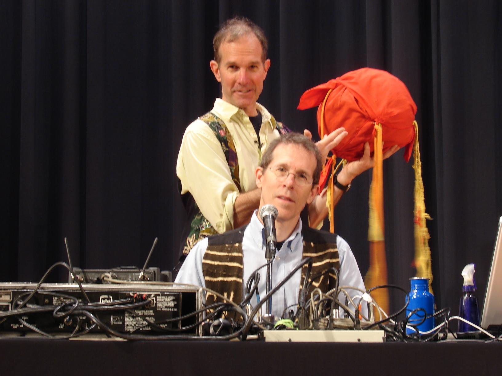 Bill and David Mettler