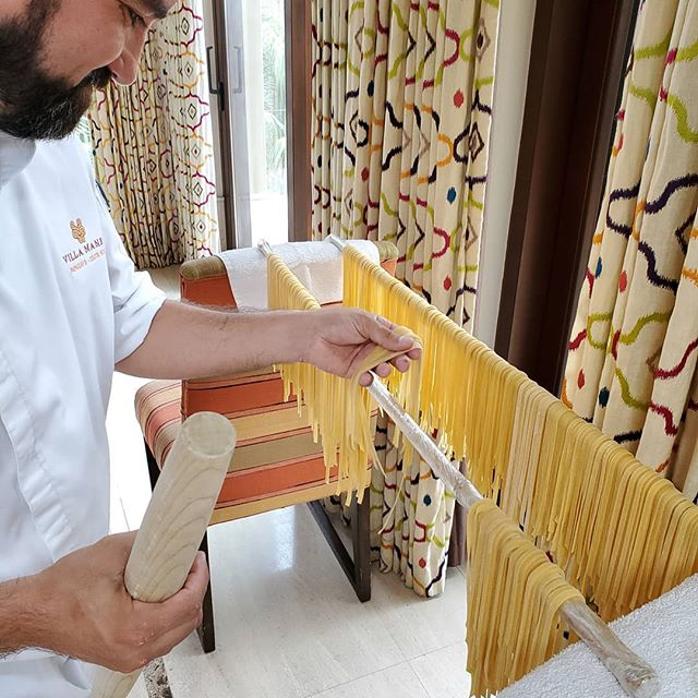 The freshest homemade pasta from chef Mariano.