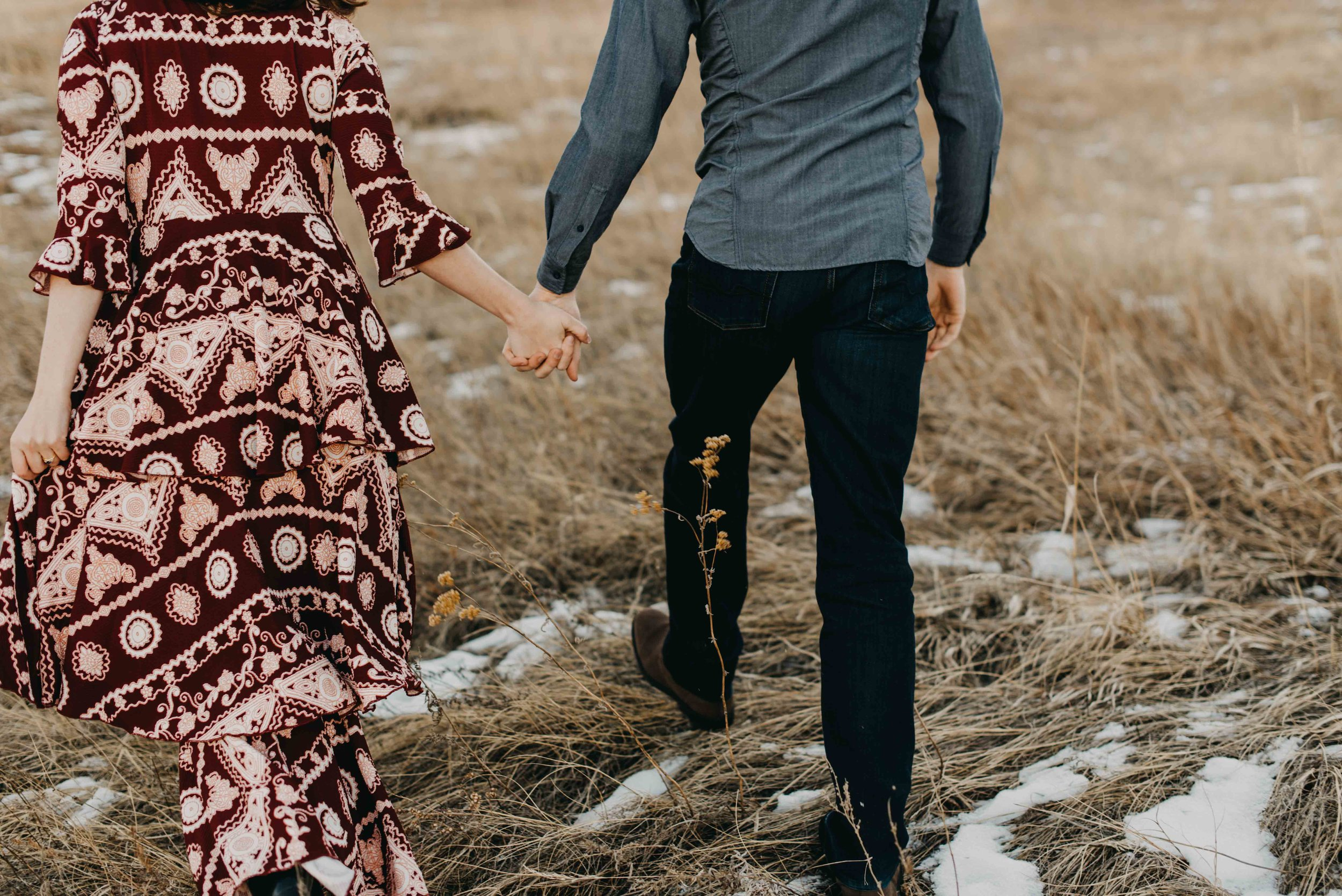 Trinity and Peter flew in from Houston to have their Chautauqua Hiking Engagement session. They were such troopers about the cold! There was snow on the ground and it was the day after New Years.