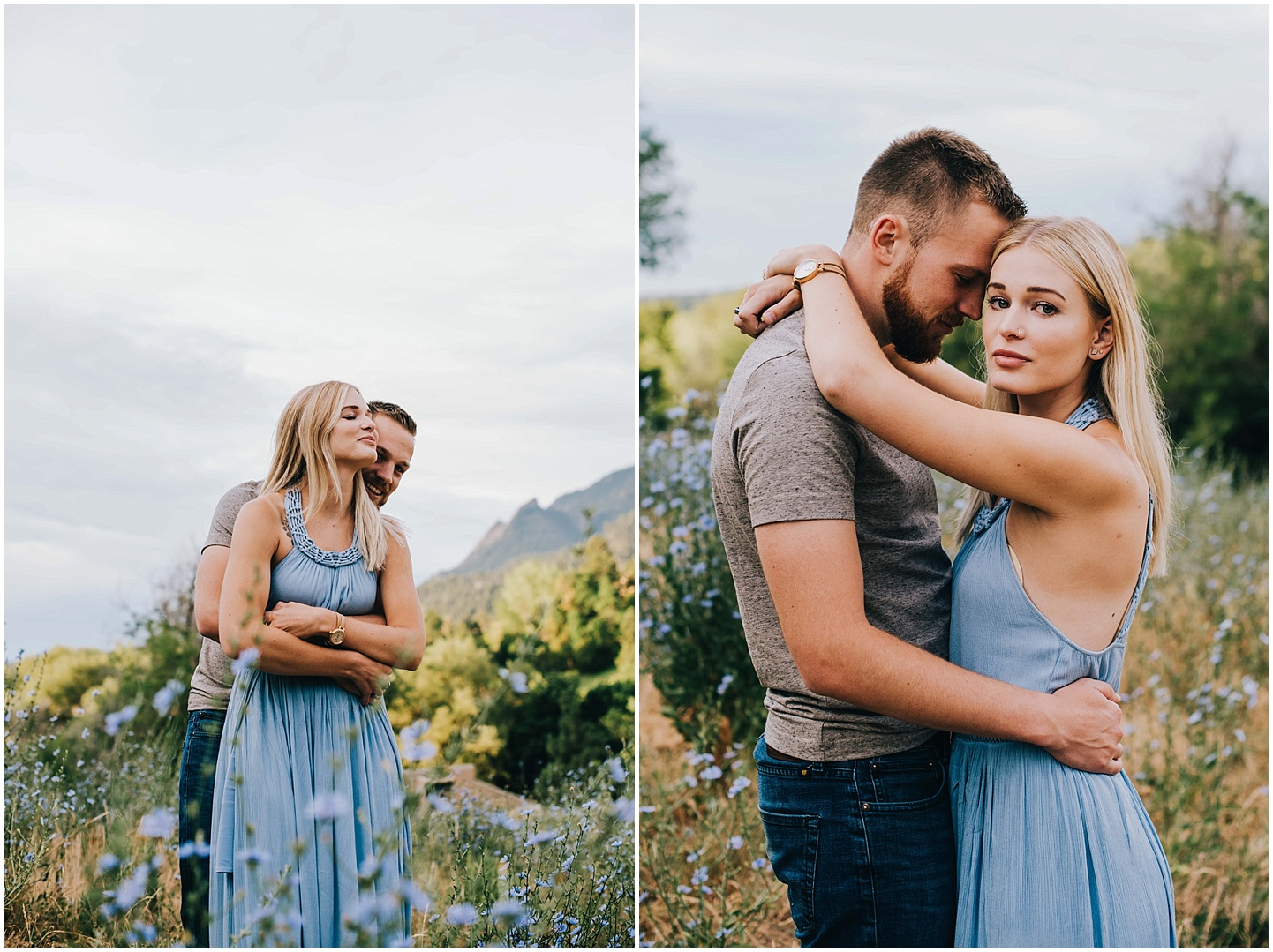 Colorado Wildflower engagement session.