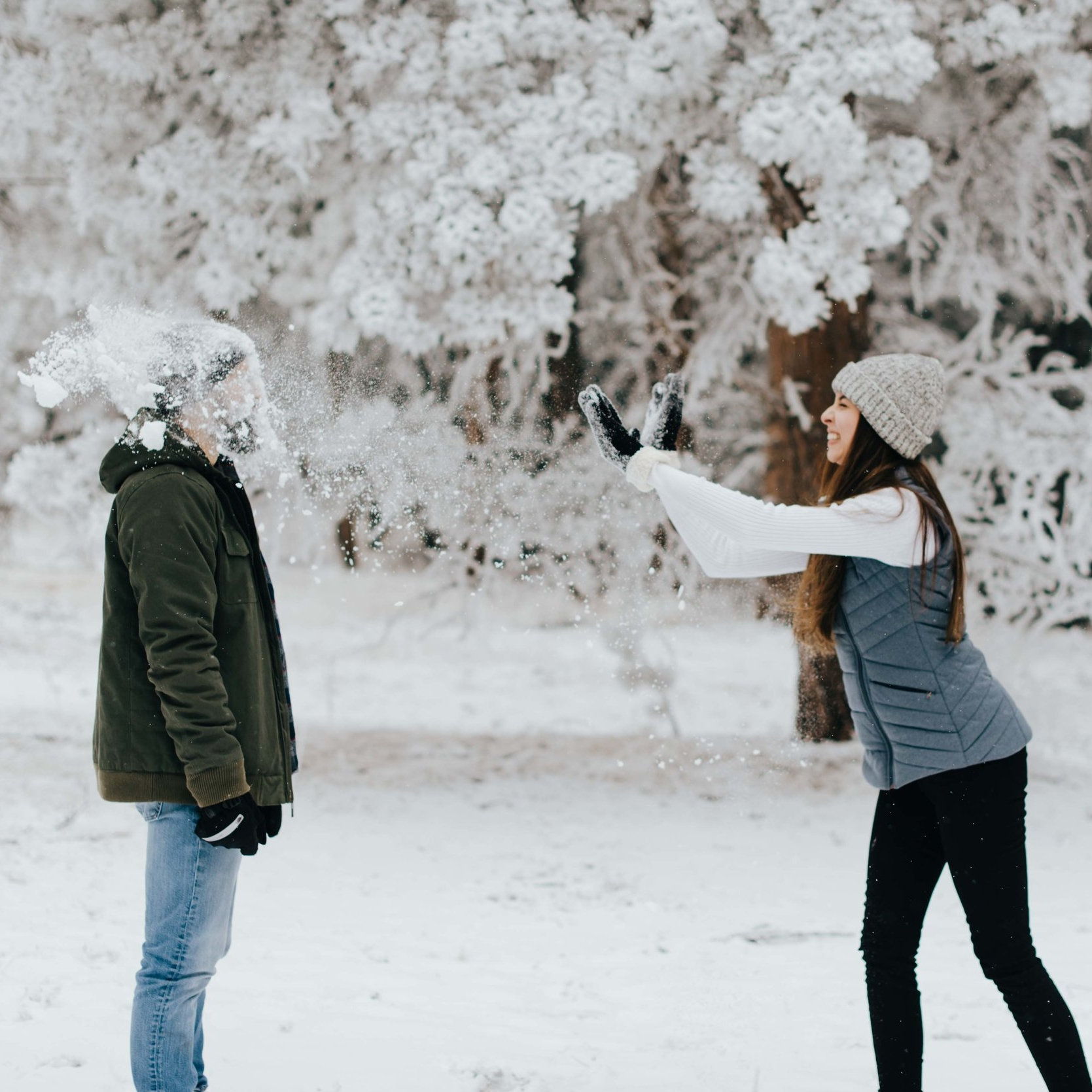Snowy Colorado Engagement Session - Golden, CO    Nik & Tani    View Post