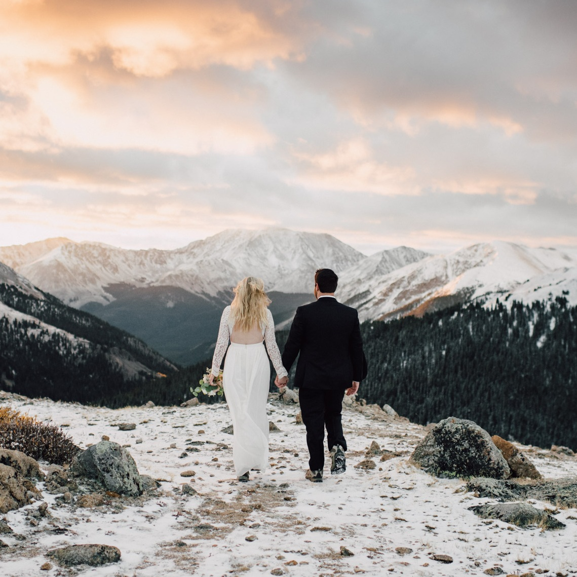 Independence Pass Elopement - Aspen, CO    Alyssa & Harry    View Post