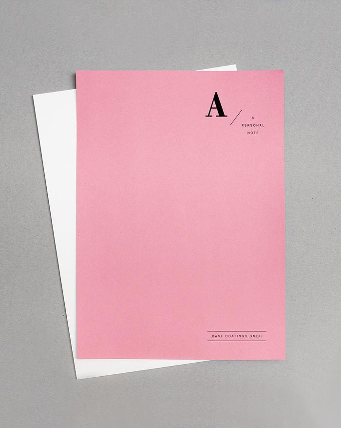 BASF Folder for an Executive Board