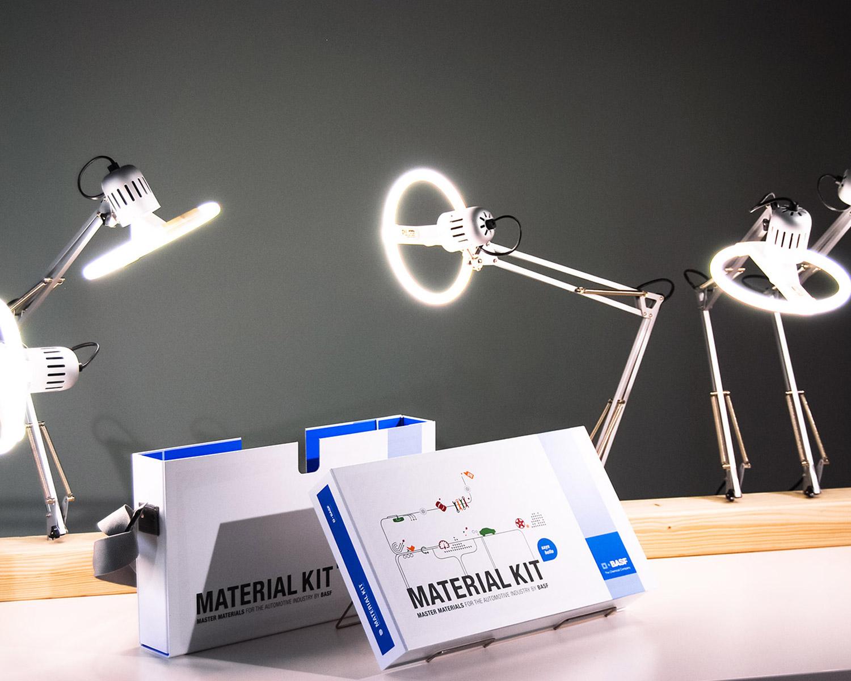Material Kit Sample Case