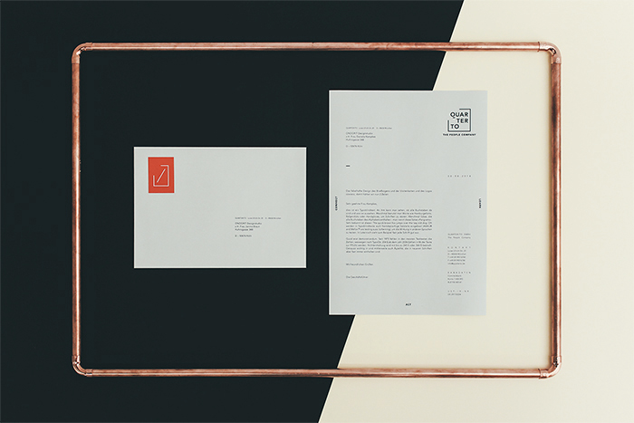 Corporate Identity for Quarter/To