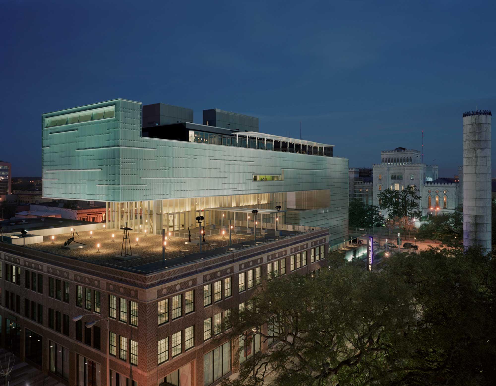 Shaw Center for the Arts, University of Louisiana at Baton Rouge -
