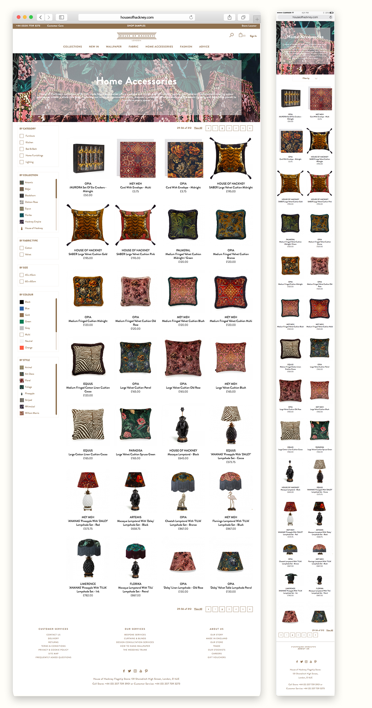 House of Hackney - Category Page