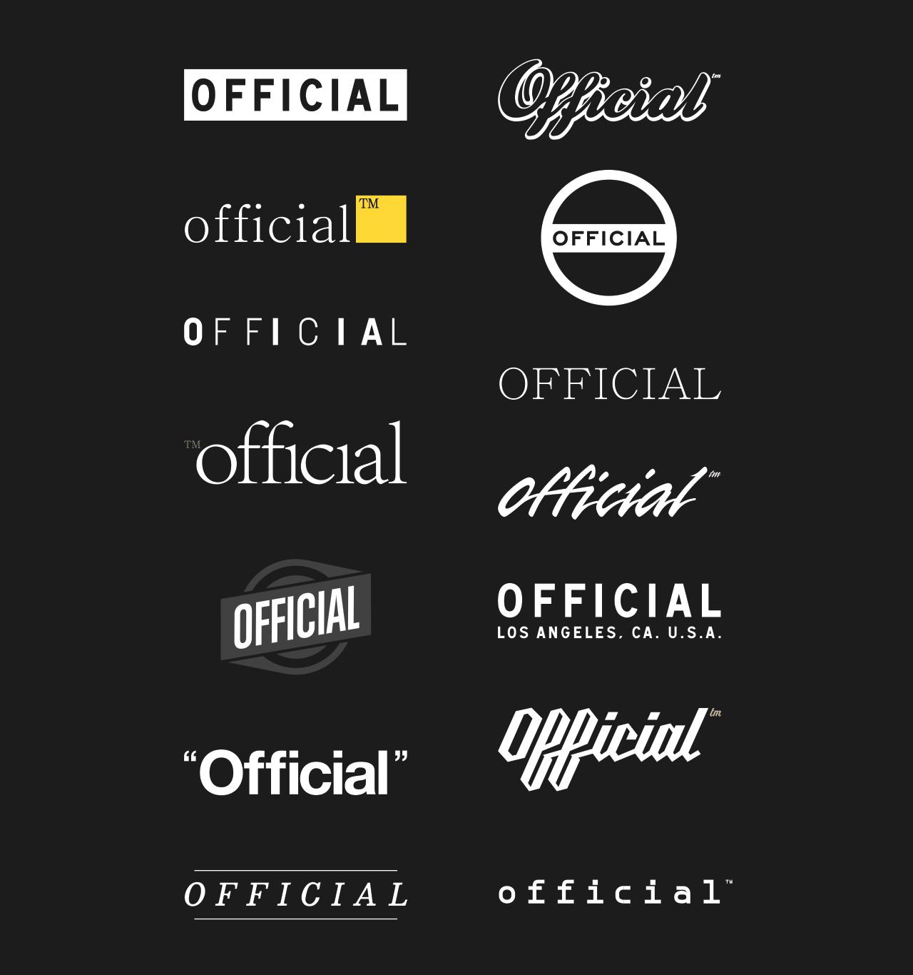 OFFICIAL | Logo Exploration