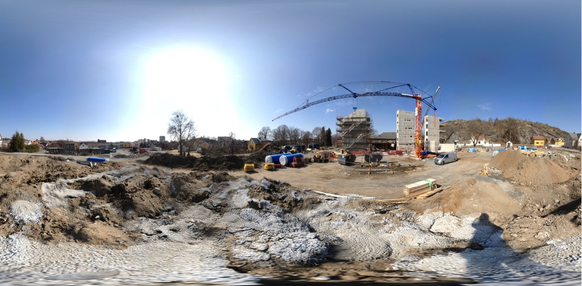 Click to open a 360 panorama taken on-site April 22, 2013