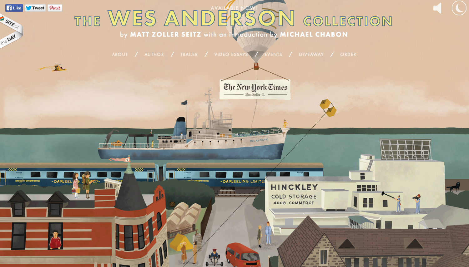 The Wes Anderson Collection Home Page