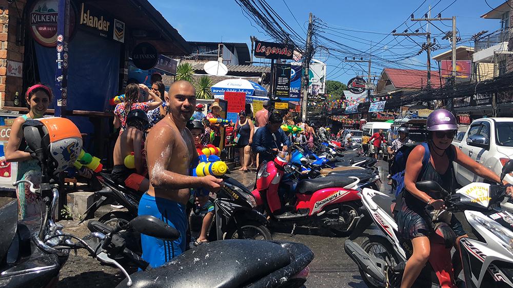 The chaos of Songkran