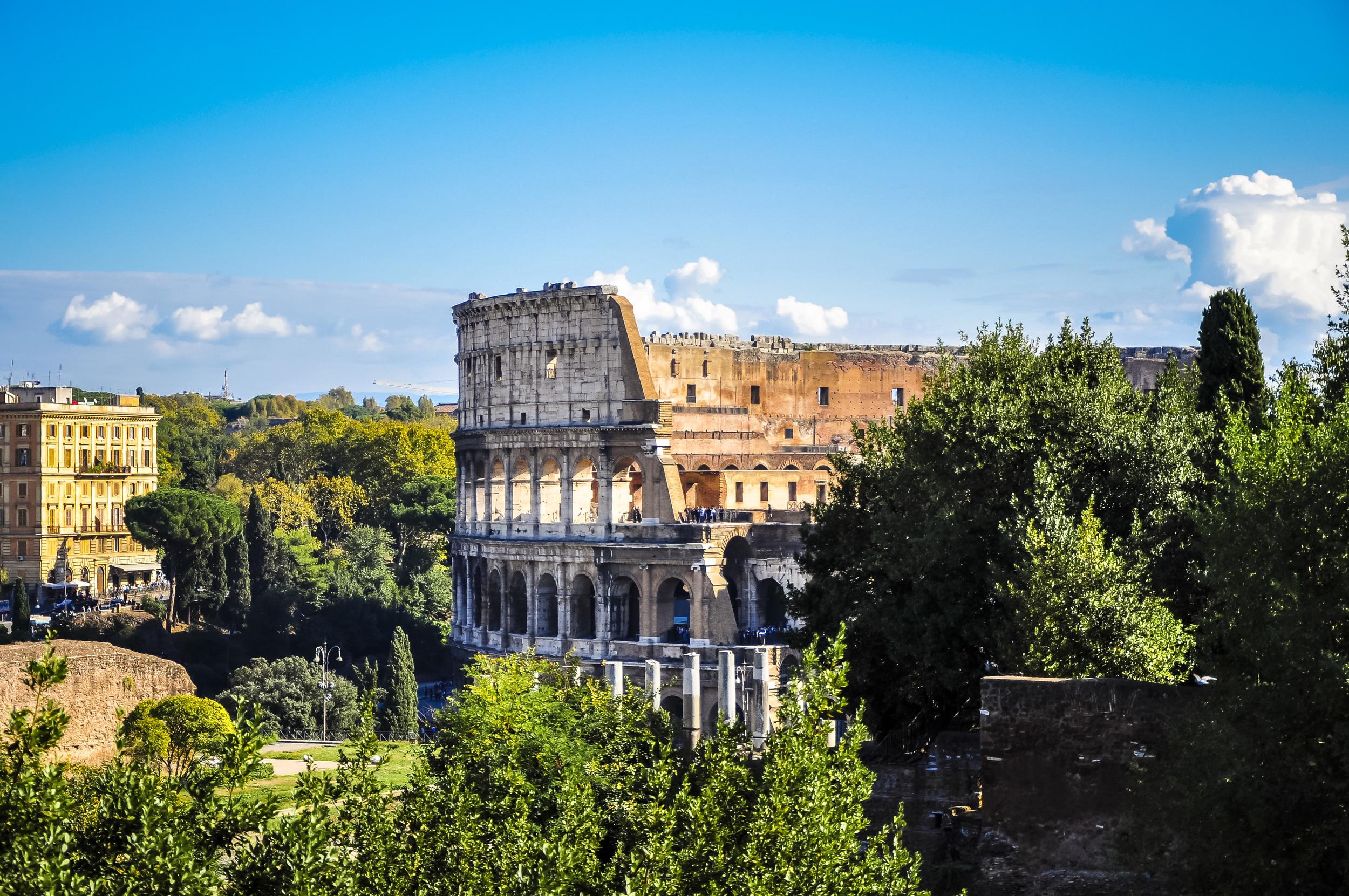 Colosseum - Amphitheatrum Flavium - Rome