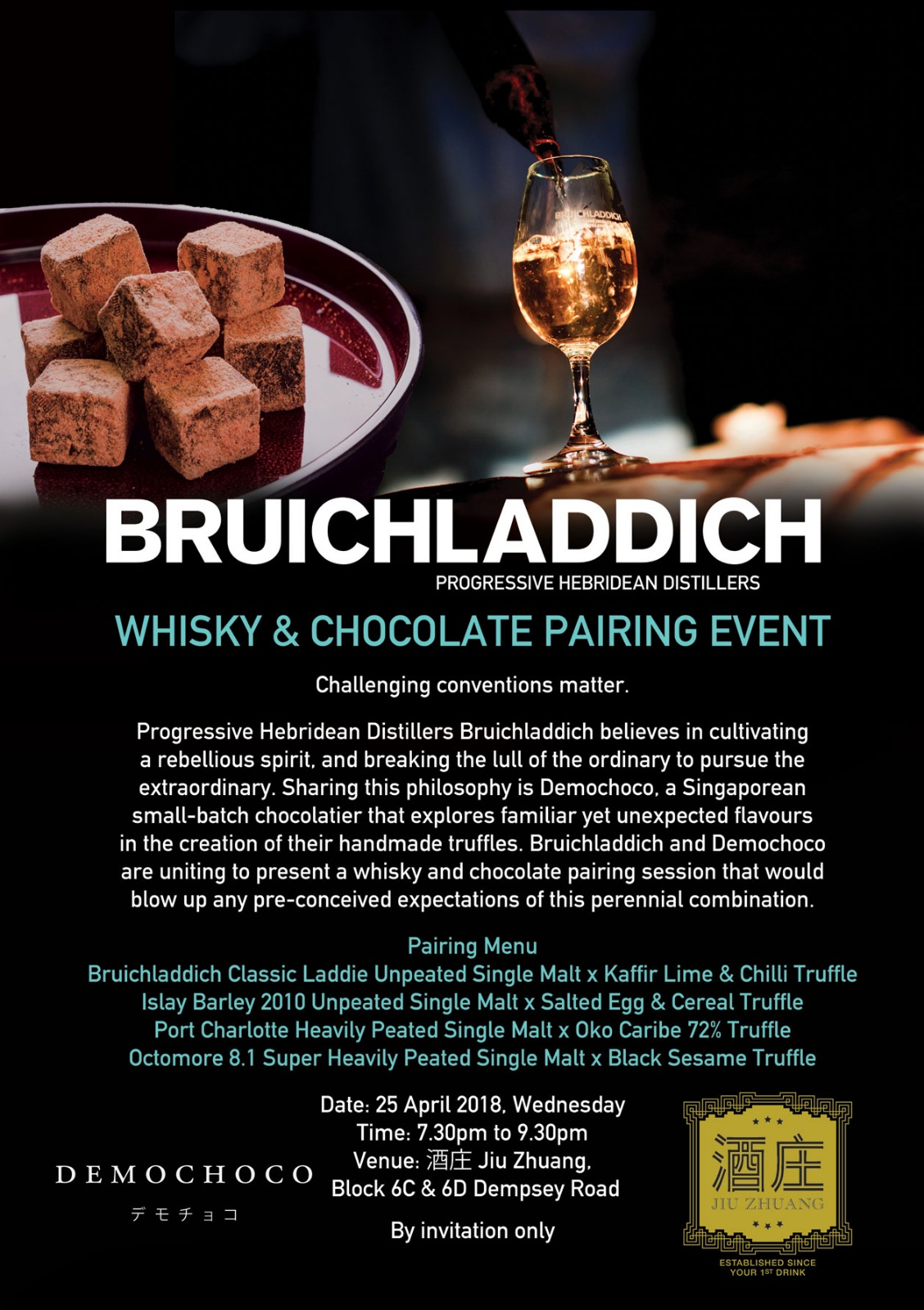 BRUICHLADDICH_WHISKY_CHOCOLATE_PAIRING_EVENT