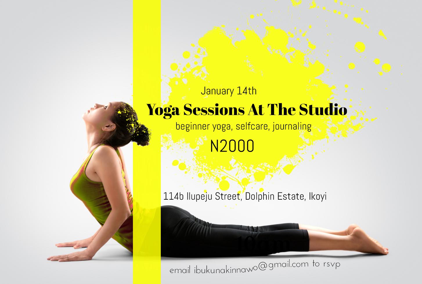yoga session Ikoyi