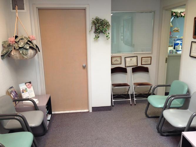 our waiting room, dr. halberstadt's rockville centre office