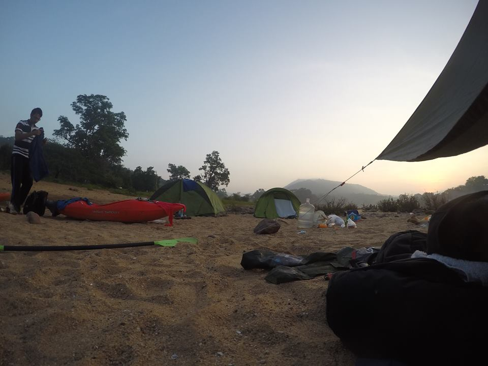 Our camp site