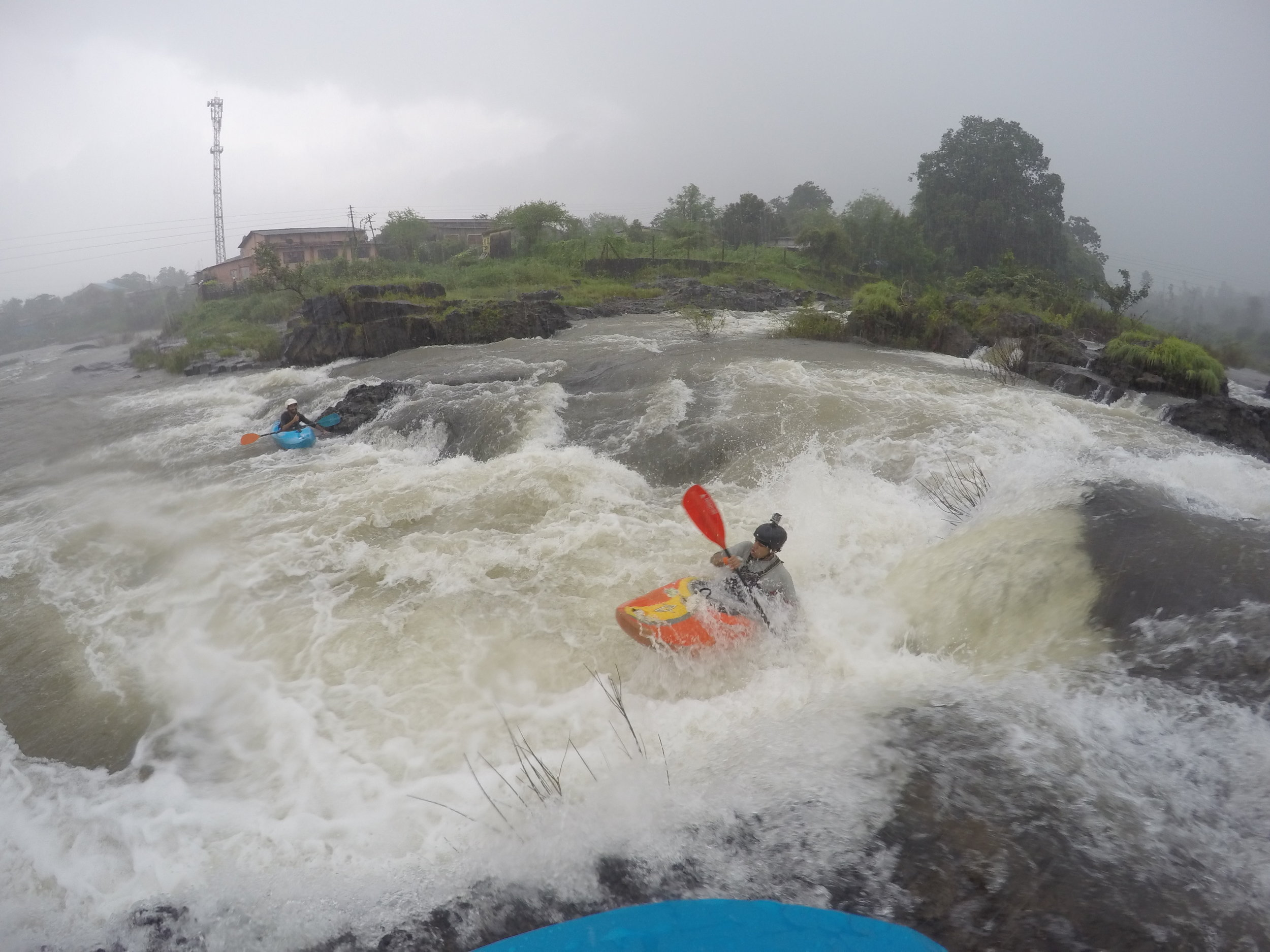 The awesome rains received creating some sublime whitewater.