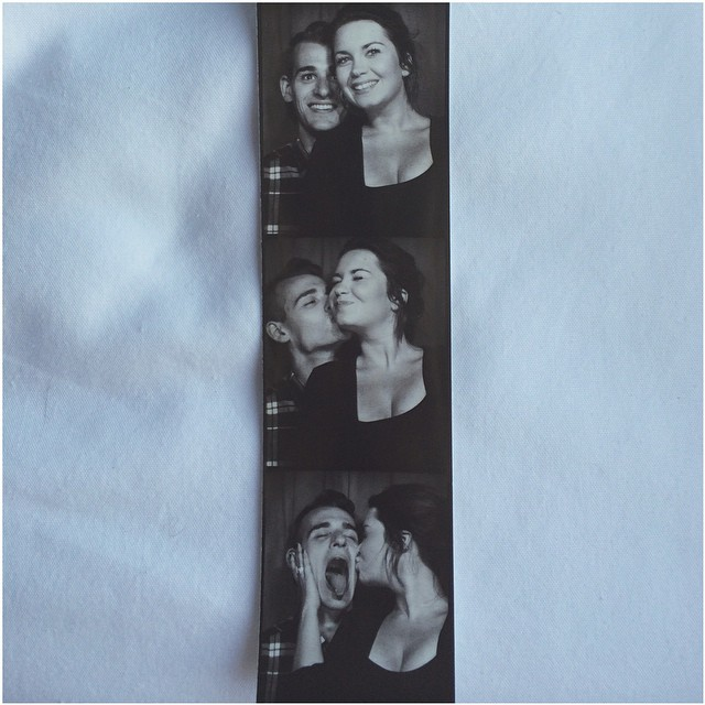 I love this photo not only because it's my first boardwalk photobooth pictures, because it was my boyfriend and I's very first mini-vacation together to OCMD.