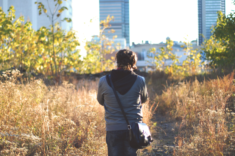 One of my best friends, and fellow photographer Brendan shooting on the Reading Viaduct.
