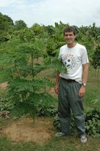 David Strong - moringa project, Cambodia