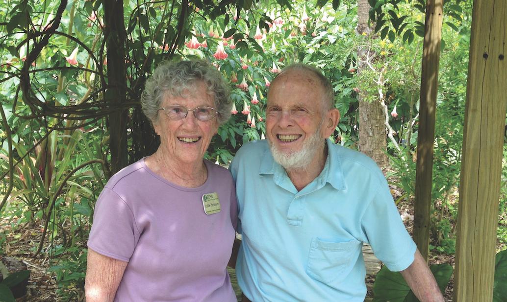 George and Lollie Peckham, June 2014.