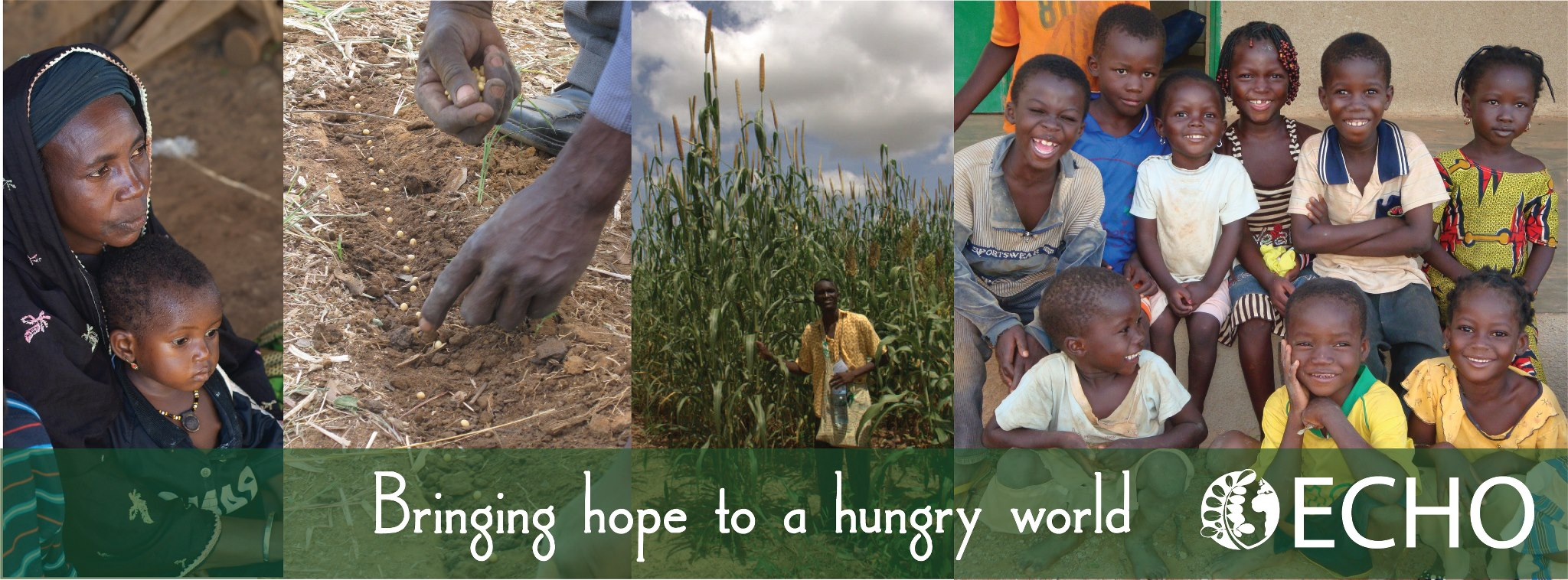 ECHO brings hope to a hungry world! Their mission is to follow Jesus by reducing hunger and improving lives worldwide through partnerships that equip people with agricultural resources and skills.