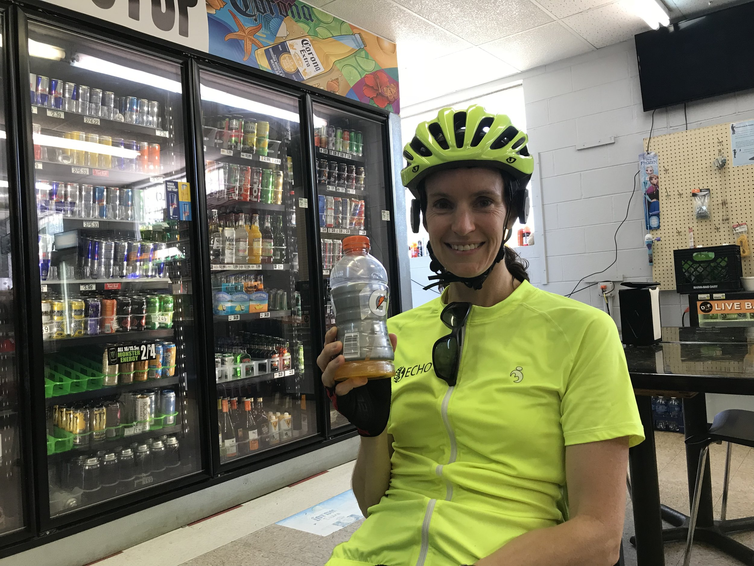 Does this look like I'm advertising for Gatorade? Well, I could certainly be their spokesperson because that beverage did everything their ads claim!