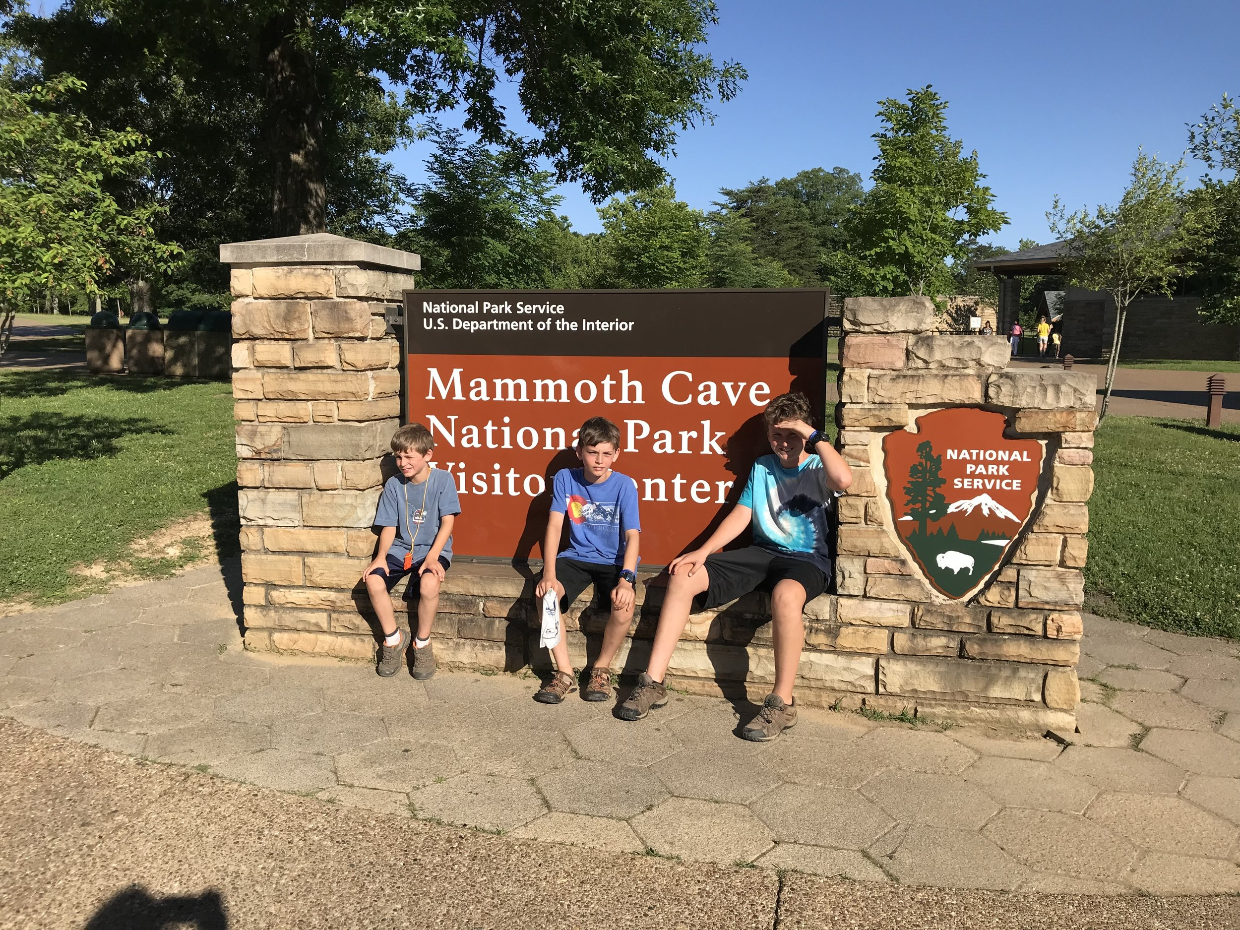 One of our milestones and anticipatory places: Mammoth Cave!