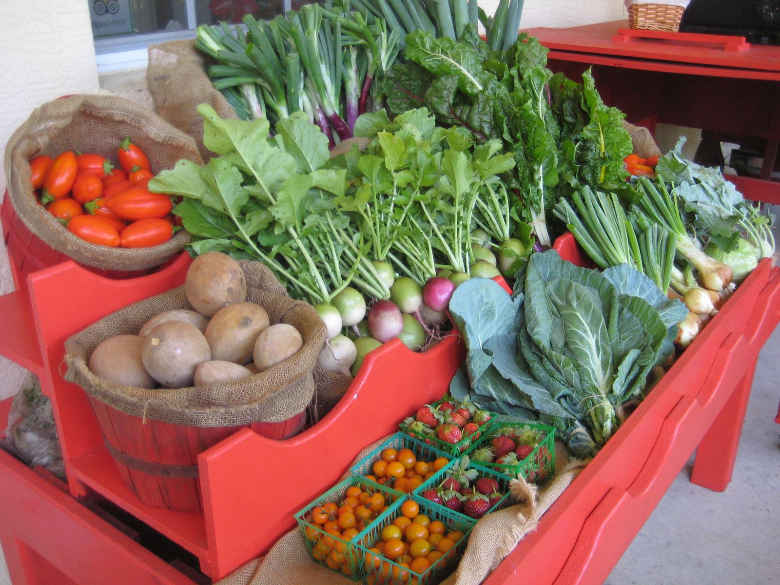 Seasonal farm produce