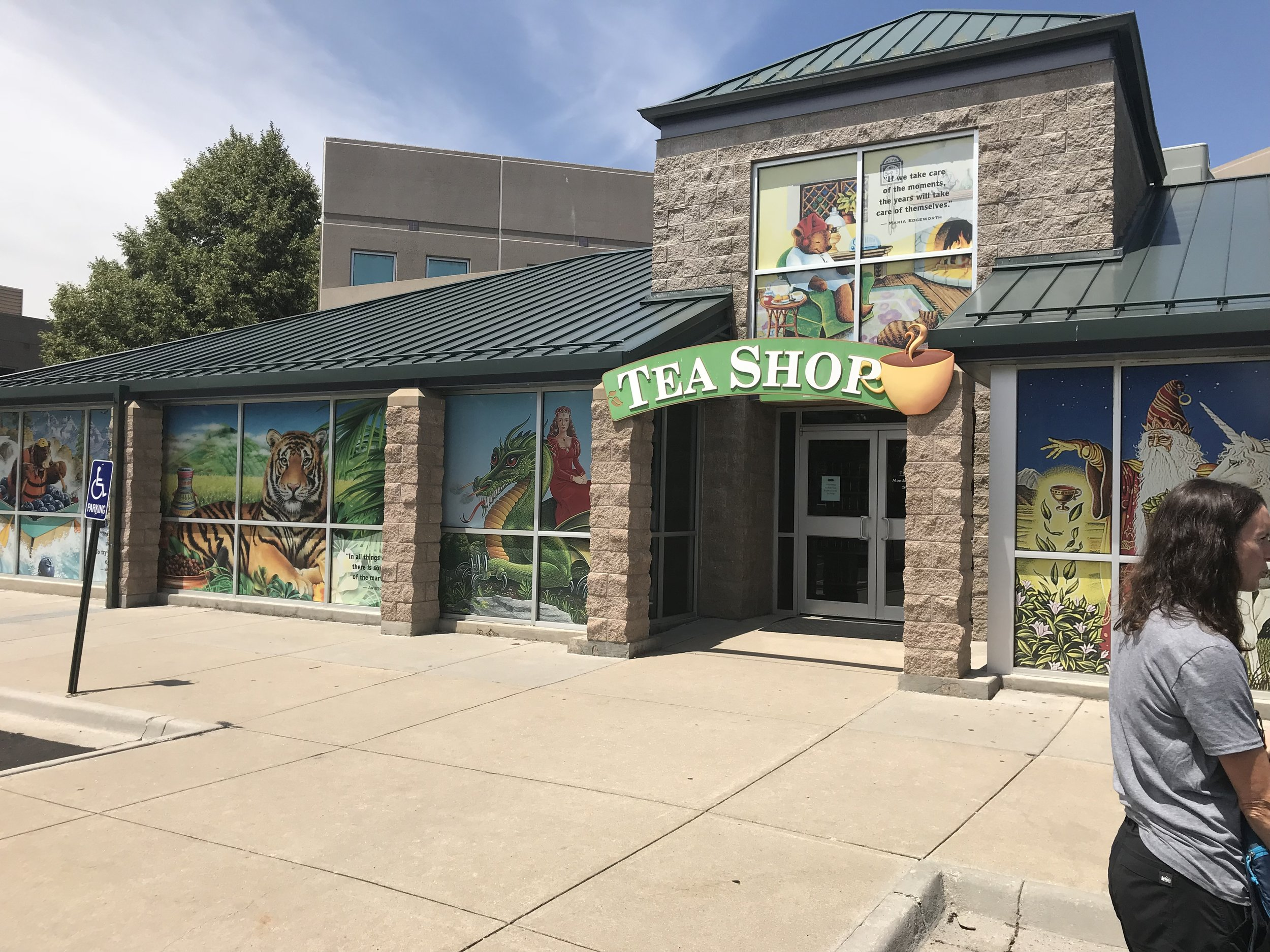 Steve went with us on a tour of Celestial Seasonings in Boulder (not the first time for most of us, but fun nonetheless).