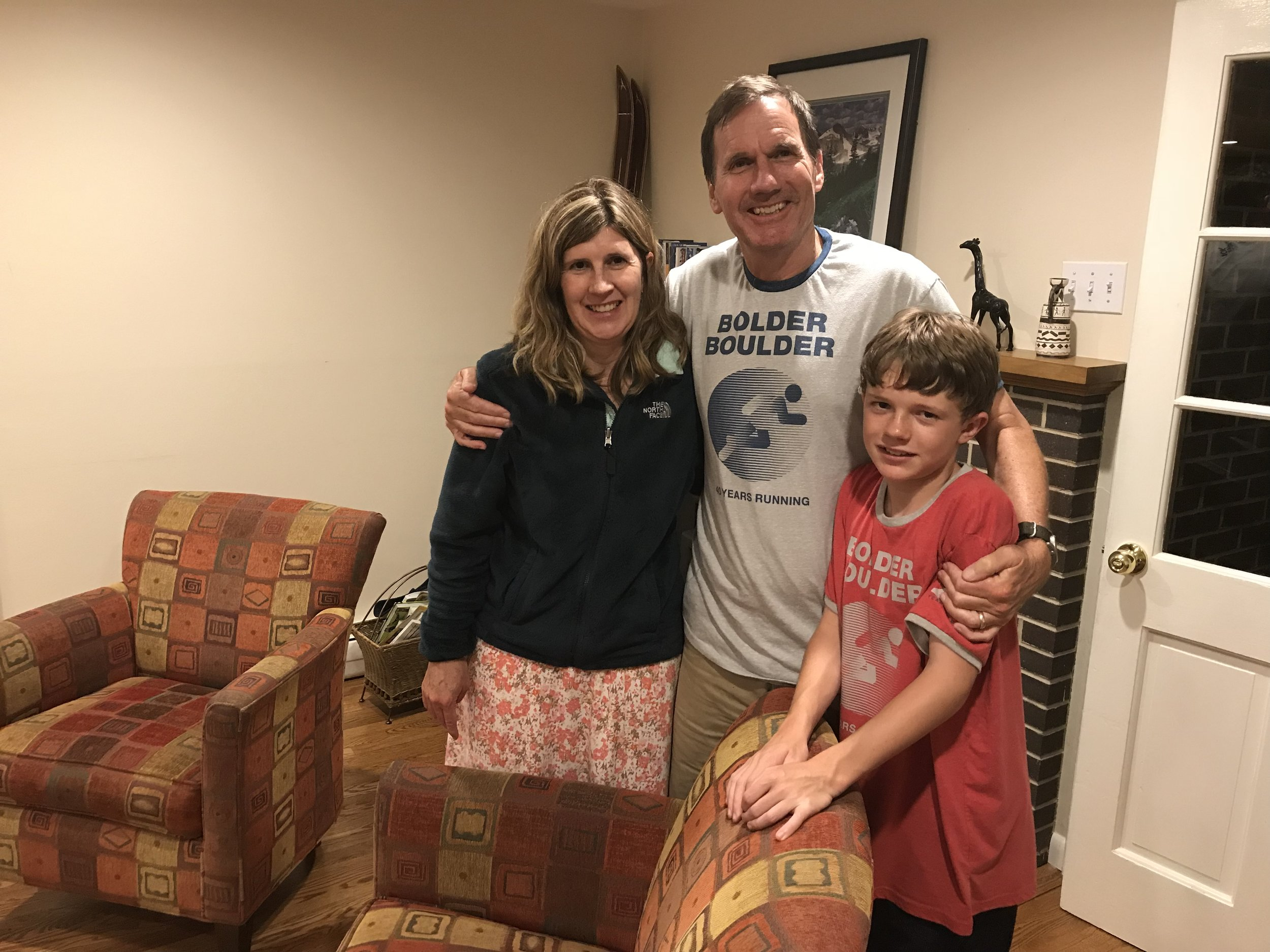 Susan, Craig, and Nathan