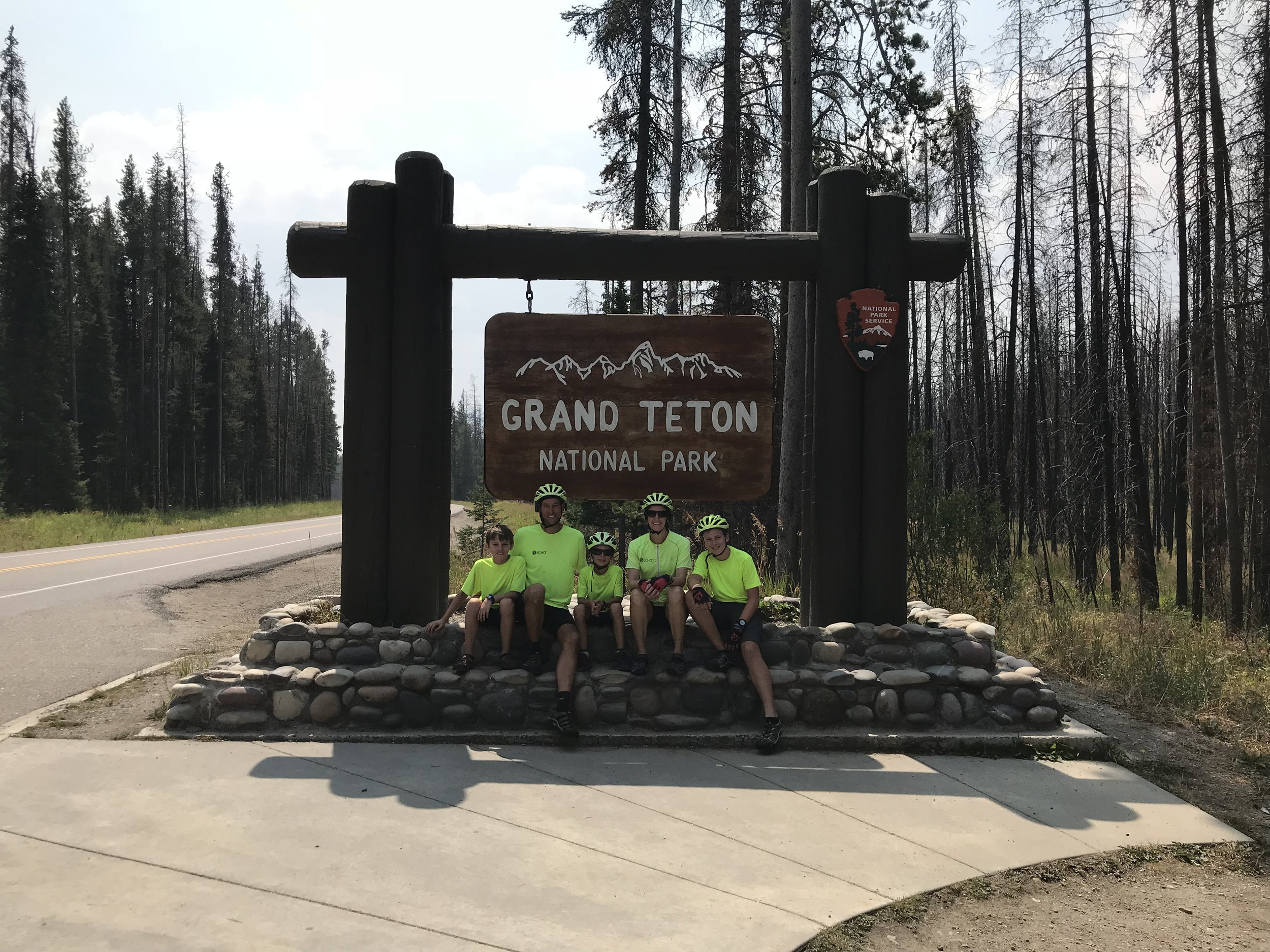 Wohoo! We made it to the Grand Tetons, signaling the beginning of the end of our adventure!