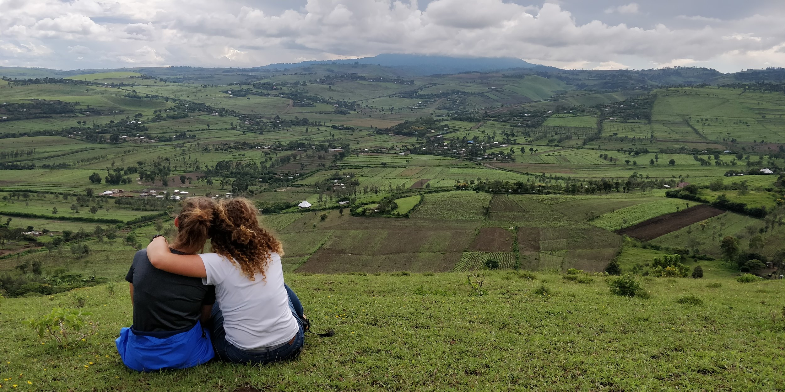 In 4 months - Elena and Savannah will arrive in Tanzania