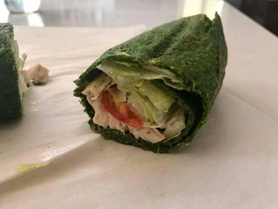 Keto-Friendly Breakfast Wrap - BREAKFAST