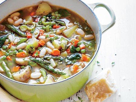 Spring Veggie Soup - DINNER
