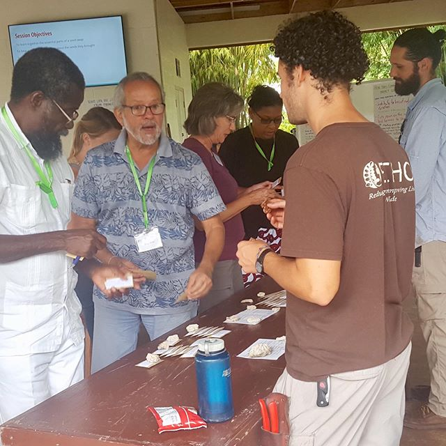 Had an amazing, highly engaging week of seed banking and seed saving training last week. We had 14 students in attendance representing 10 countries. The week ended with a hands-on, seed swap event/demo. #echofightshunger #seeds #seedswapping #seedswaps #trainingfarmers