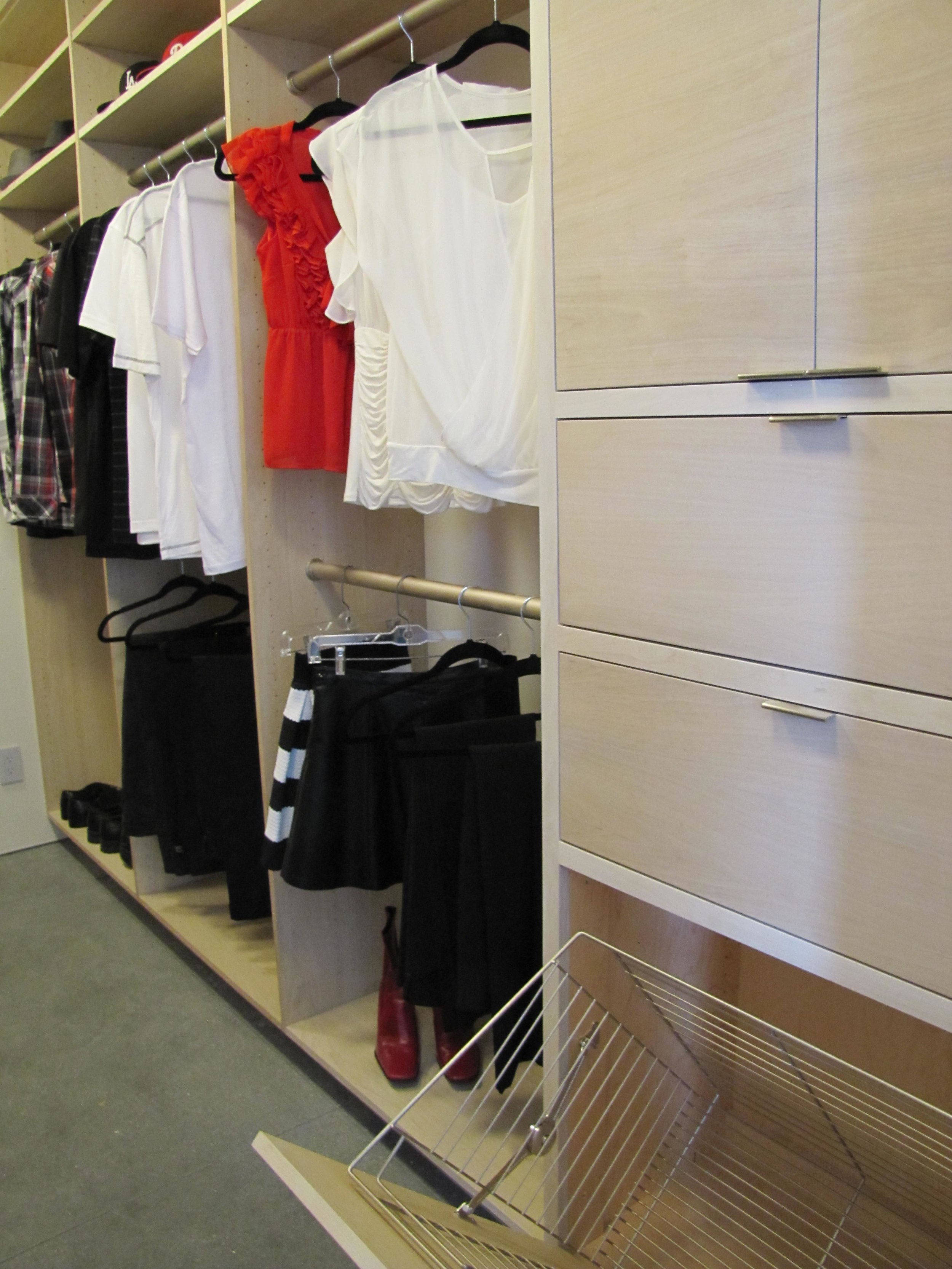 Custom Closet by RC Cabinets & Closets