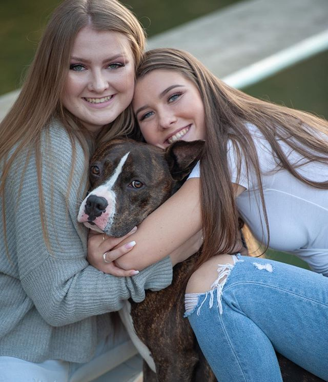 Bring me all of your puppies on your shoot! ⠀ ⠀ Hunter here has been featured in a few different shoots with me and the coolest part is I remember these girls longing for a dog before he came into their lives. Seems like a perfect match to me!!⠀ ⠀ All of it makes me so happy. ❤️ 🐾