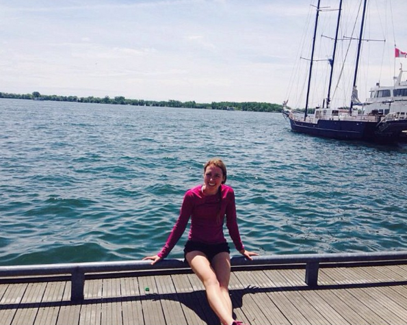 At the Toronto Harbourfront