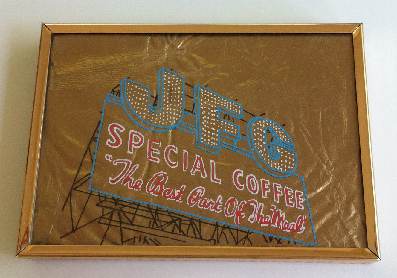 JFG Coffee Sign- SOLD