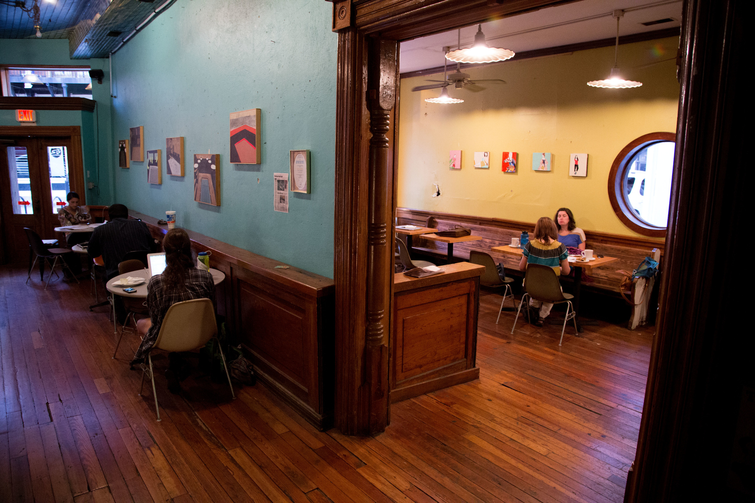 Art For the People at Old City Java. Photo by  Matt Higginbotham