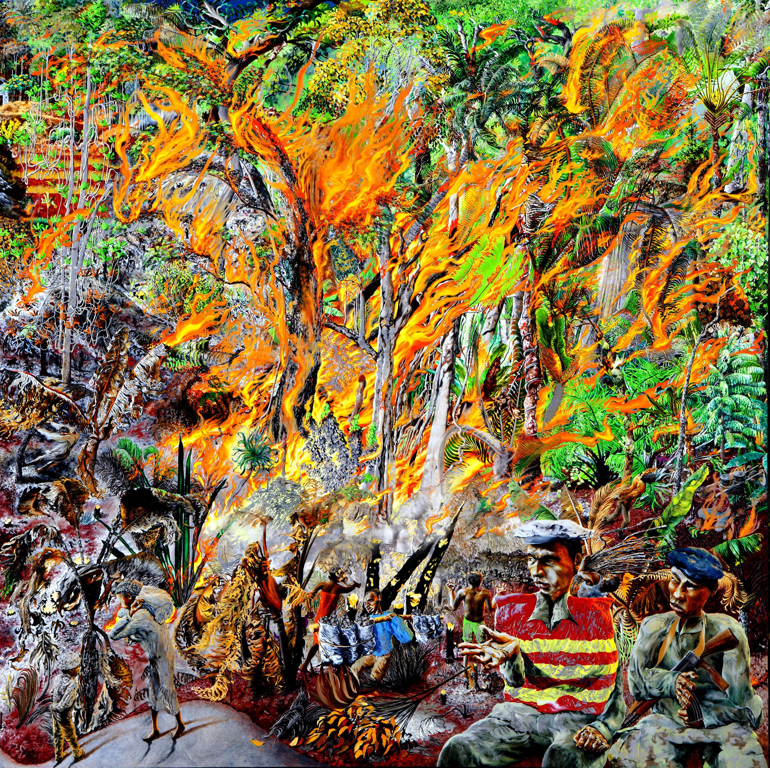 Rainforest Fire