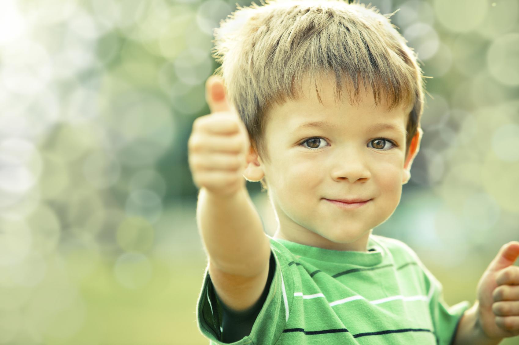 <-- Happy Kid. -
