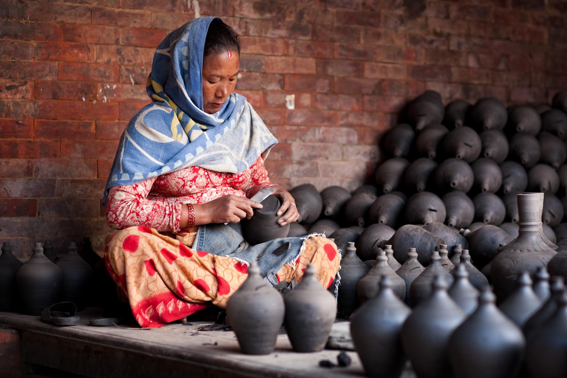 Nepal-Bhaktapur-Travel-Pottery.JPG