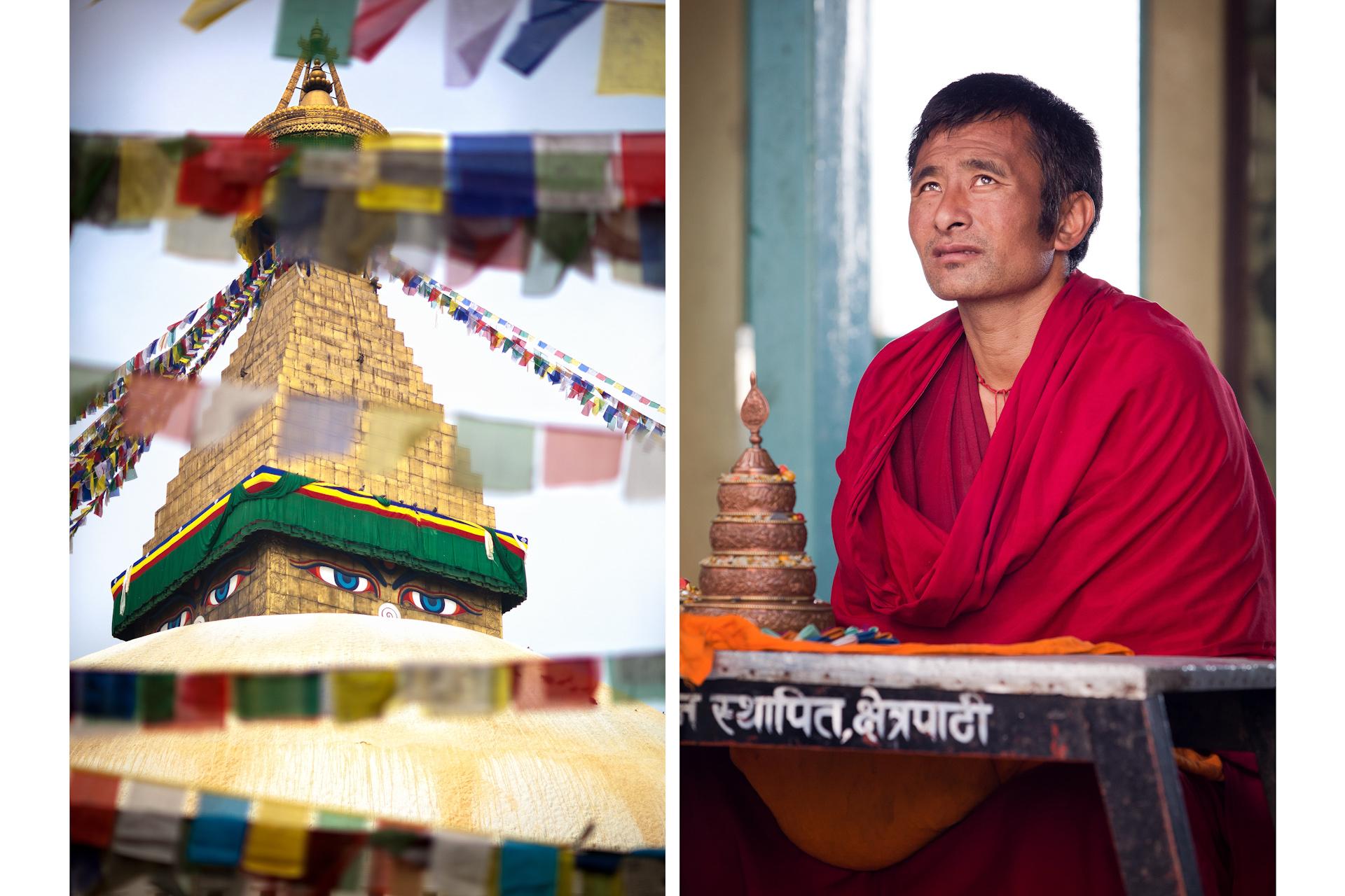Nepal-Kathmandu-Travel-Swayambhunath-Buddhism-Temple-Monk.JPG