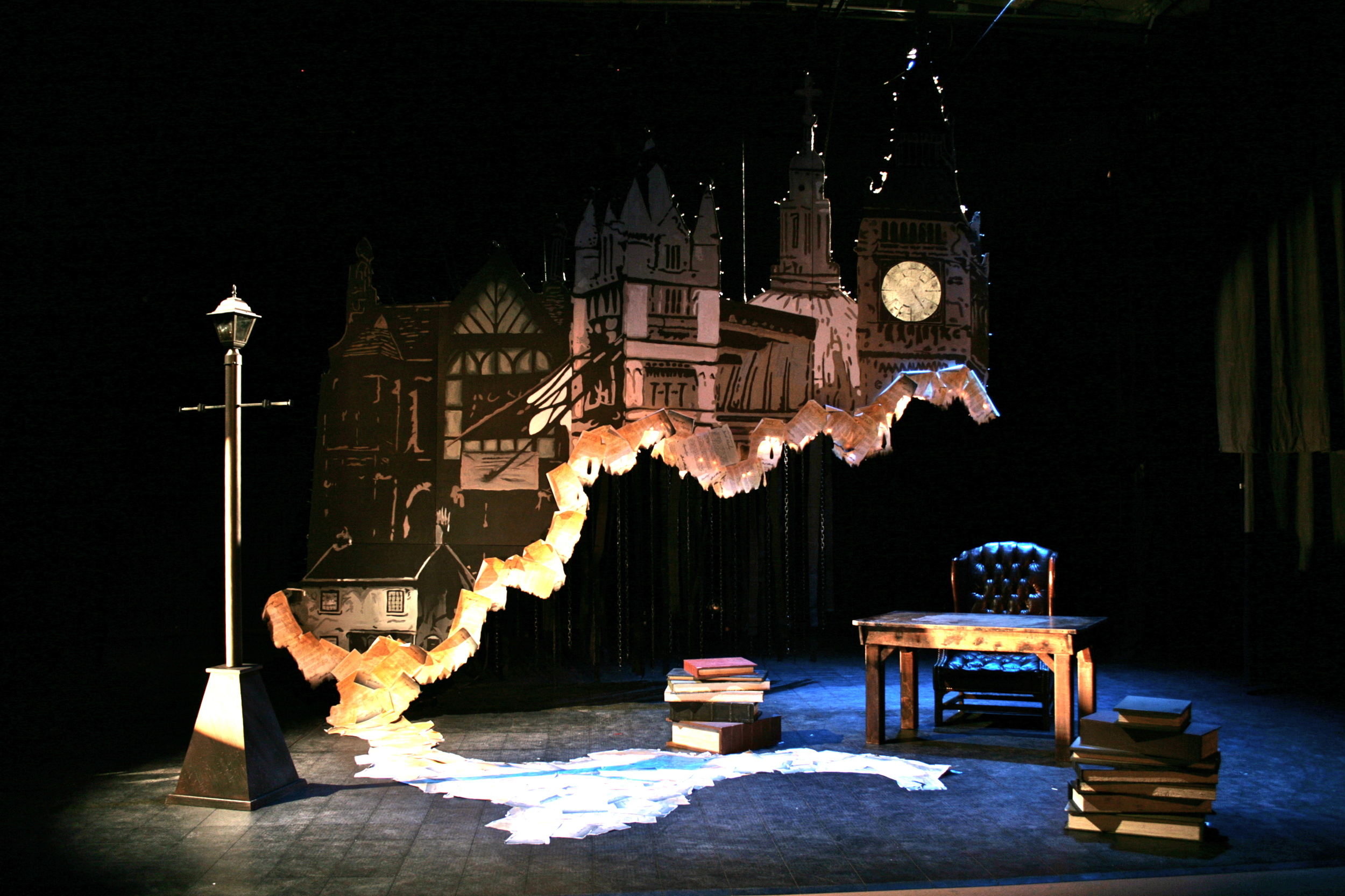 Jacob Marley's Christmas Carol - Loudly Whispered Theatre