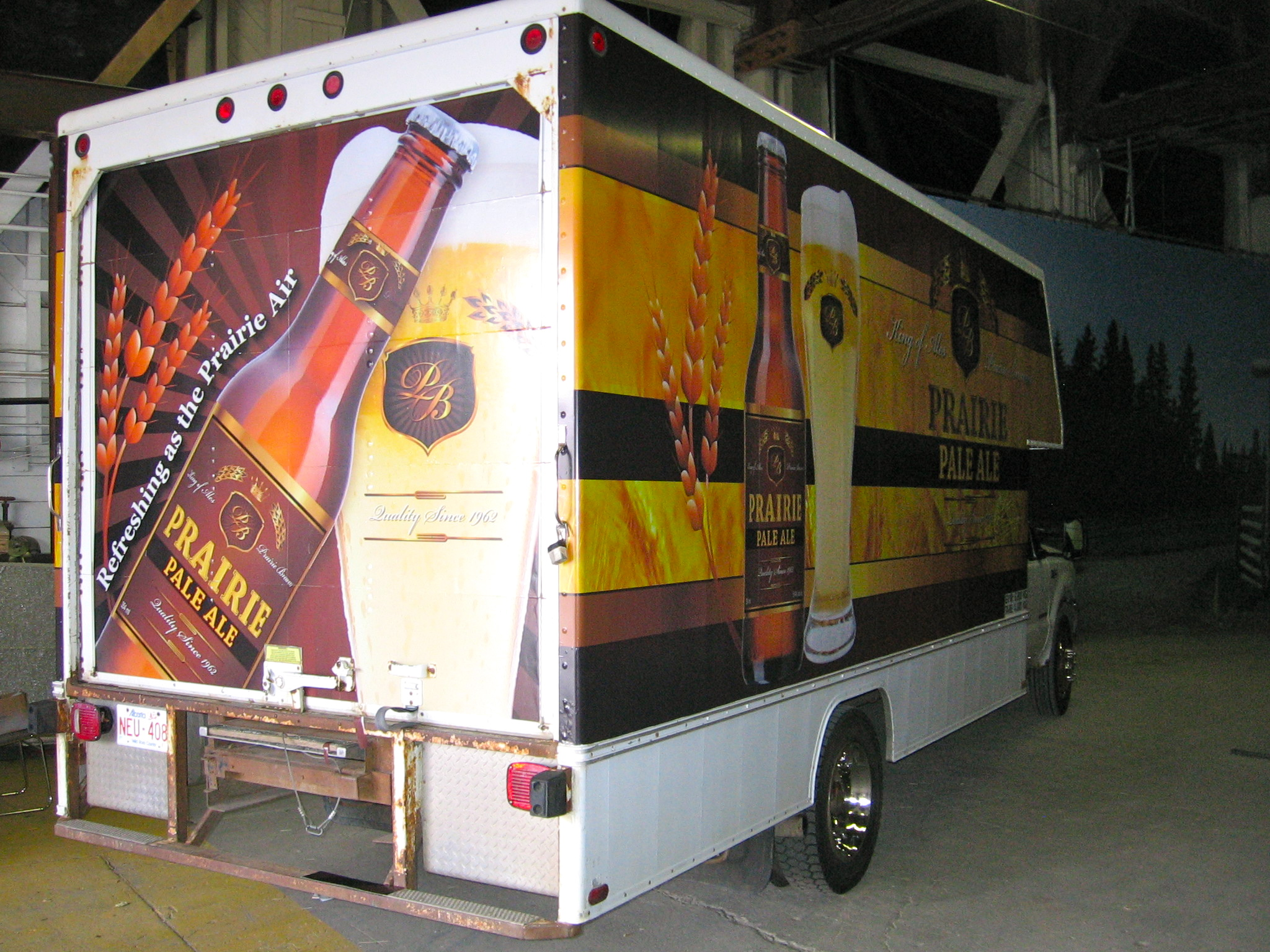 Beer Truck Graphics - Heartland Season 4